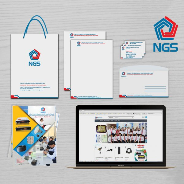 Bộ nhận diện thương hiệu NGS