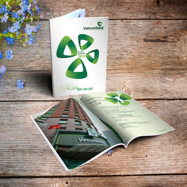 Báo cáo thường niên Vietcombank 2015