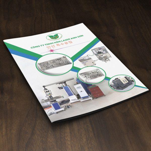 Thiết kế profile Công ty TNHH Hàn laser Anh Sơn